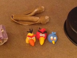 These are the angry birds.