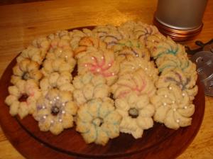 Spritz cookies 011