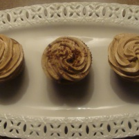 Cinnamon Coffee Cupcakes