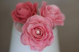 Gumpaste Roses