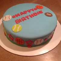 Sports Themed Cake 4 Kids Cake #5