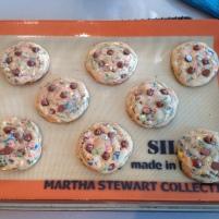Sprinkled Chocolate Chip Cookies