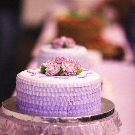 Purple Ombre Rose Cake (Cake 4 Kids Contest {2014})