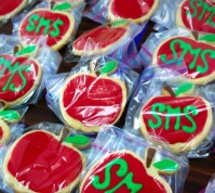 Apple Decorated Cookies
