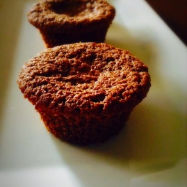 Whole Wheat Chocolate Coffee Muffins