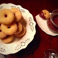 Cinnamon Sugar Cake Donuts