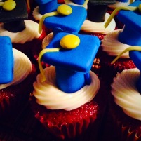 Graduation Day Mini Cupcakes