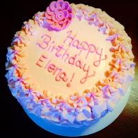 Pink Ruffle Cake 4 Kids Cake #10