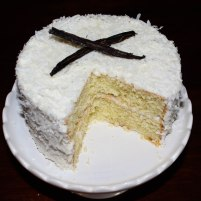 Vanilla Bean Coconut Cake