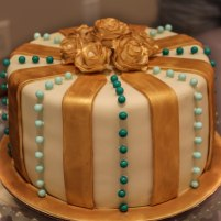 Gold & Ivory Cake (Cake 4 Kids Contest {2016})