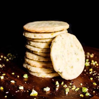 Pistachio & Rosewater Cookies